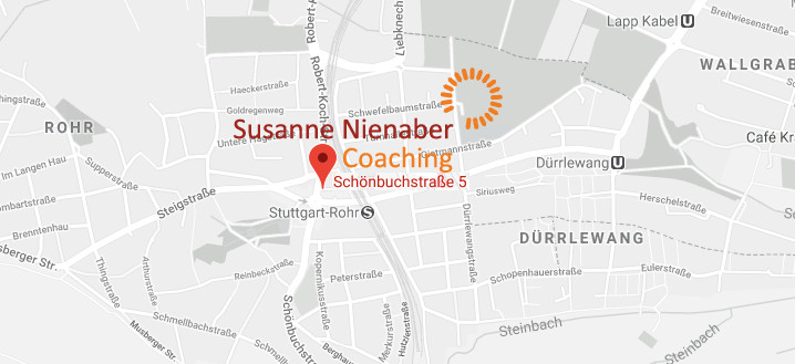 Kartenansicht für Nienaber Coaching in Schönbuchstraße 5, 70565 Stuttgart